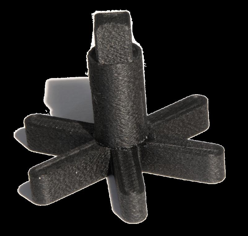 masked Stereolithography MSLA Bauteil aus Kunststoff